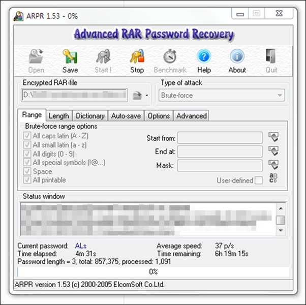 rar password recovery magic/rar 비밀번호 풀기/winrar unlock/rar 암호
